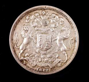 CANADA 1860 Indian Chief's Medal Second Generation Cast