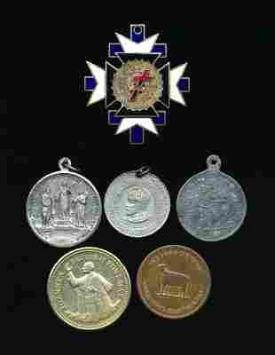 CANADA 1877-1984 A Lot of 6 Commemorative Medals VF-AU