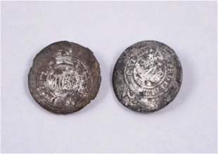 UNITED KINGDOM Undated A Lot of 2 Pewter HBC Cypher 21