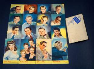 Post Cards 1944 A Lot of 16 RCA Victor Post Cards