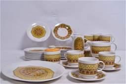 Royal Doulton  - Parquet tableware set - 1973-1978
