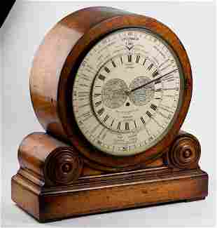 Victorian Willis World time clock