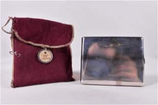 Cigarette case /  Worl War II aviation trophytrophy,
