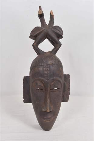 Old senufo mask - Première moitié XXème