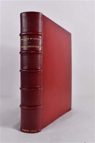 Leconte de Lisle, Charles Marie René - Poèmes barbares