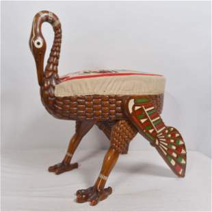 École européenne - Egyptian style art deco figural