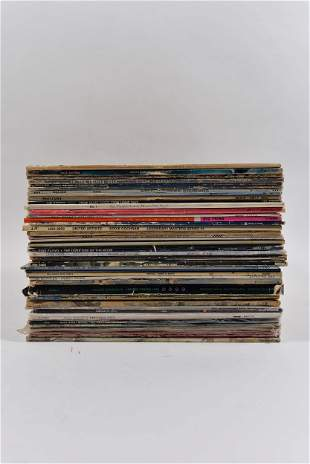 Lot of vintage rock vinyls