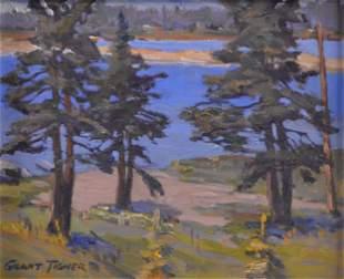 Tigner, Grant - Beach, Nova Scotia  - 1990