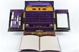 Tiffany & Co. - Antique travel writing desk - c.1870