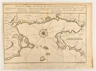 Bellin, Jacques-Nicolas - Plan du port et ville de