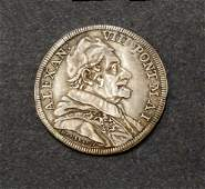 ITALY - Papal States-Vatican Alexander VIII 1690