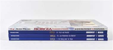 Jodorowsky, Alejandro & Manara, Milo - Les Borgia