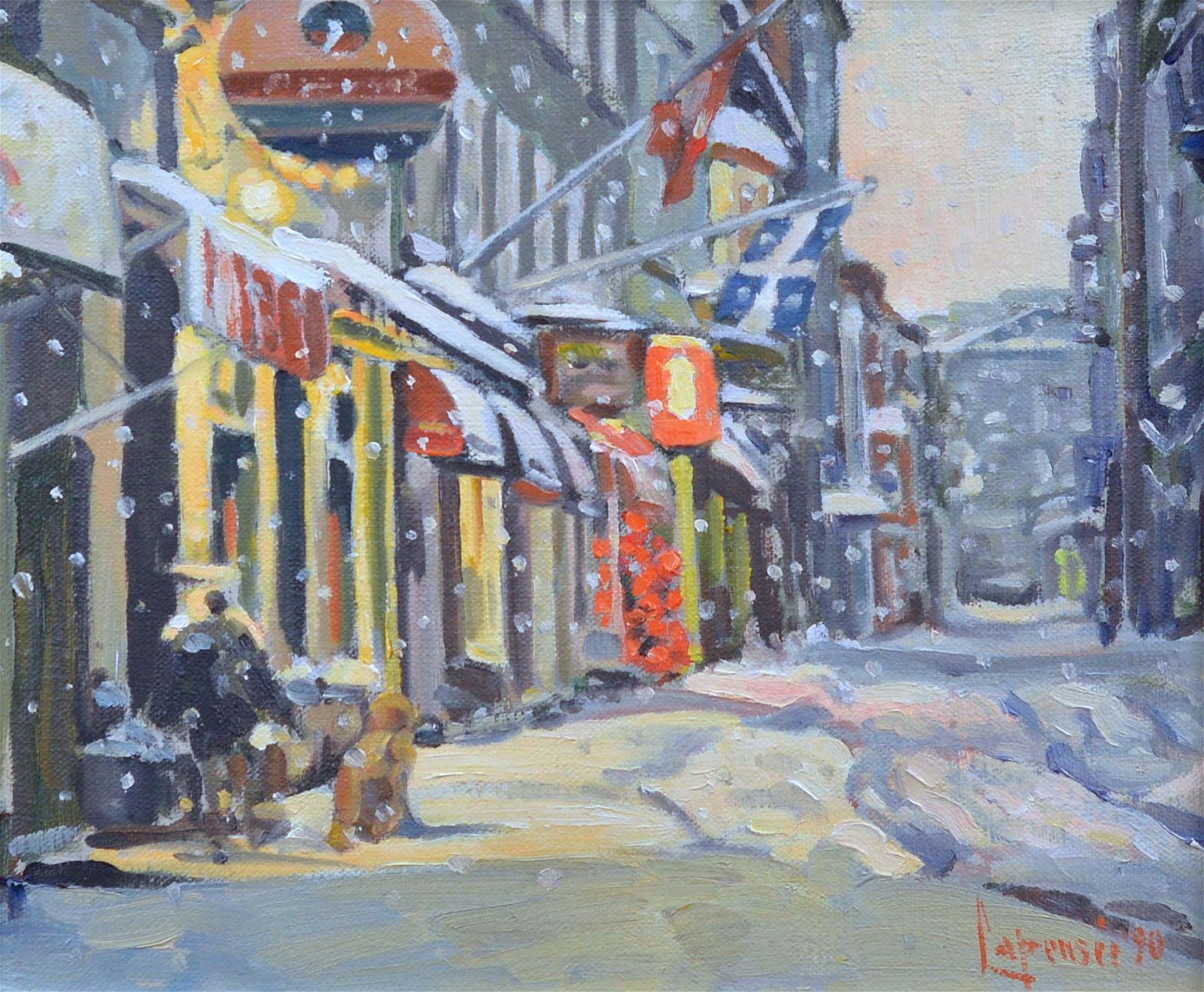 Lapensée, Michel - Rue Buade Québec - 1990