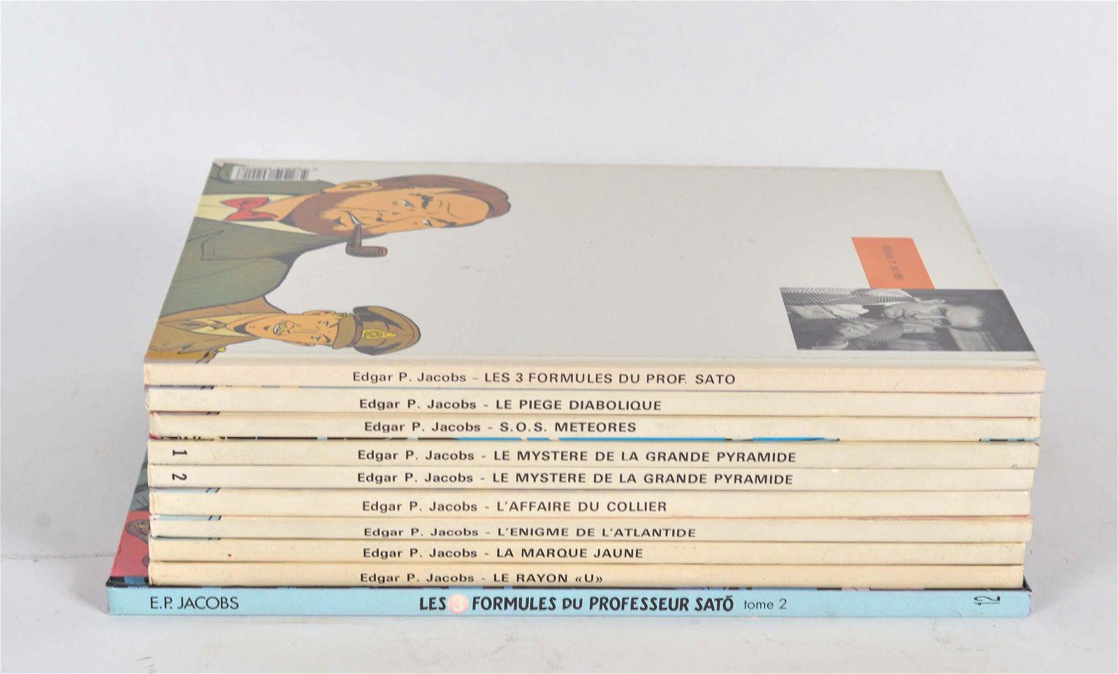 Edgar P. Jacobs - Blake and Mortimer vintage comics