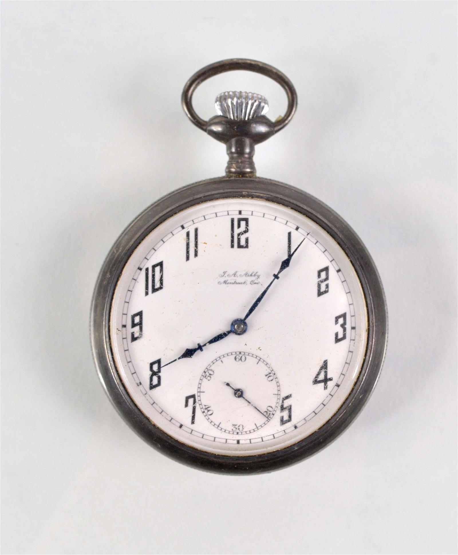 Longines - Montréal pocket watch - 1920