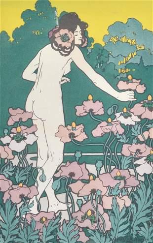 Christiansen, Hans - L'heure du berger - 1898
