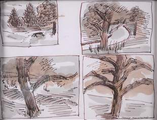 MacDonald, Manly Edward - Sketch