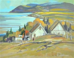 Kirouac, Louise Lecor - Baie ensoleilée, Gaspésie, Qc.