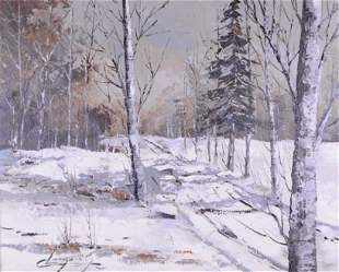 Langevin, Claude - Paysage hivernal