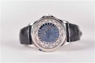Patek Philippe - Calatrava World Time platinum watch