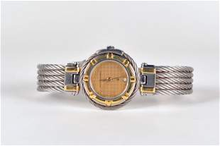 Philippe Charriol - Ladies steel and gold watch