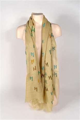 Hermès - H scarf