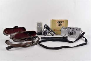 Leica - Vintage 35mm camera with extra lenses - 1937