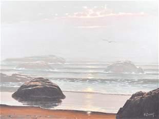 Davies, Ronald - Rochers en bord de mer