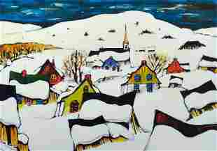 Hudon, Normand - Le village du Nord - 1994