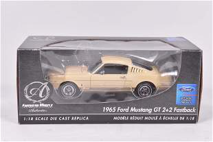 ERTL Collectibles - 1965 Ford Mustang GT 2+2 Fastback