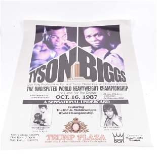 1987 World Heavyweight Championship Poster - 1987