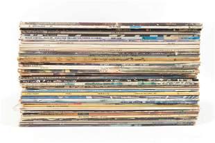 Vintage rock vinyl collection