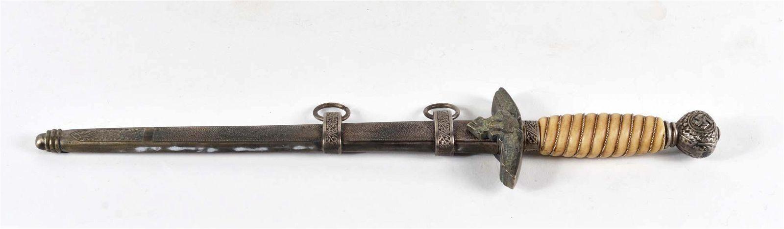 World War II officer's dagger reproduction