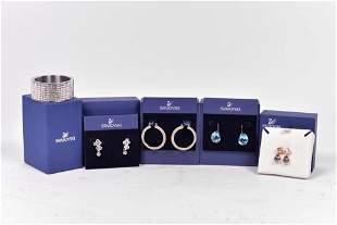 Swarovski - Crystal jewelry lot