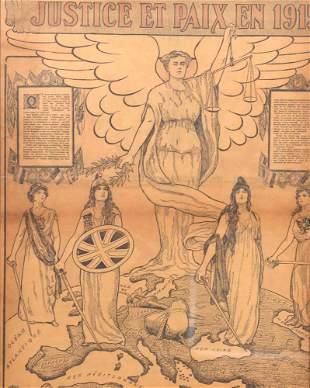 Latour - Justice et paix en 1915 - 1915
