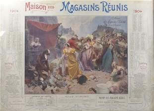 Boutigny, Paul-Émile - Advertising calendar of La