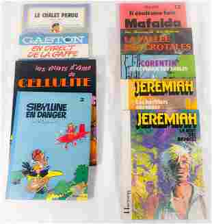 Lot of vintage french comics - 1970-80's