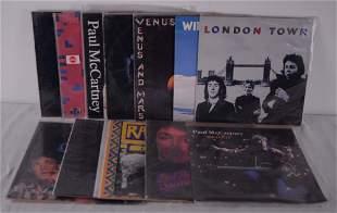 McCartney, Paul - Collection of 12 Paul McCartney and