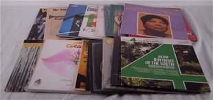 Mixed lot of vintage vinyl records
