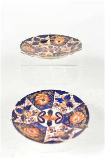 Royal Crown Derby - Two imari plates - 1863-1866