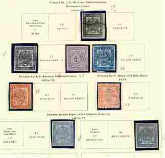 Transvaal 1870-1910 collection, stamps F */o.