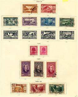 World collection 1892-1967, stamps F-VF */o.