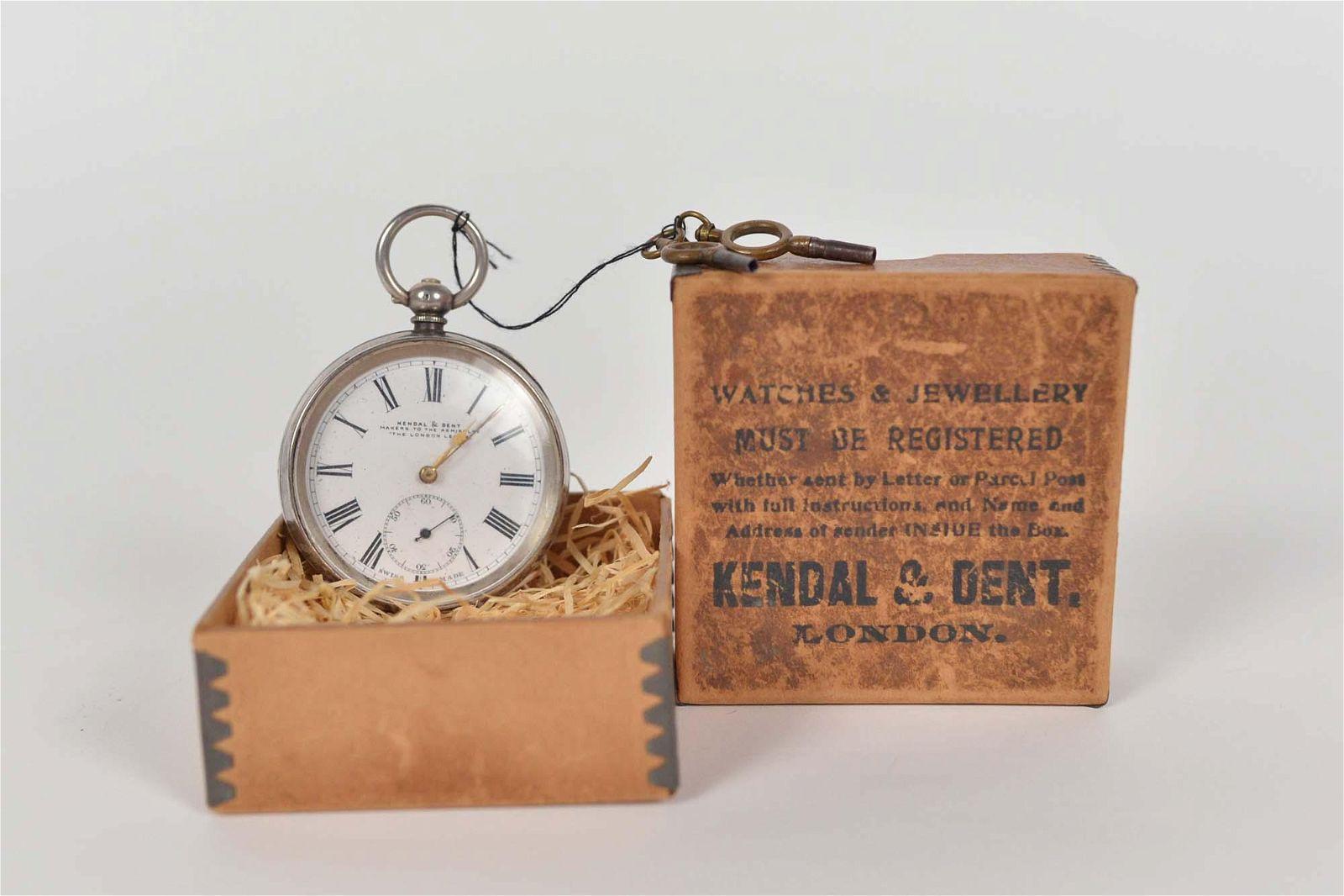 Kendal & Dent. - Antique pocket watch - c.1880