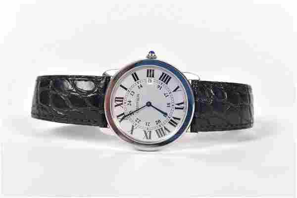 Cartier - Ronde Solo men's watch - 2012