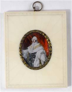 Miniature portrait of Louis XVI - c.1900