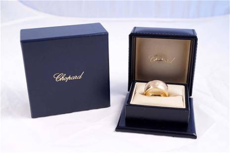 Chopard - Chopardissimo 18K pink gold ladies ring