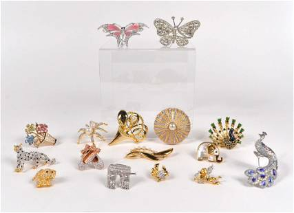 Swarovski - Lot of 14 custom jewelry
