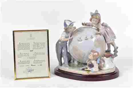 Lladro - Voyage of Columbus porcelain figurine - 1992