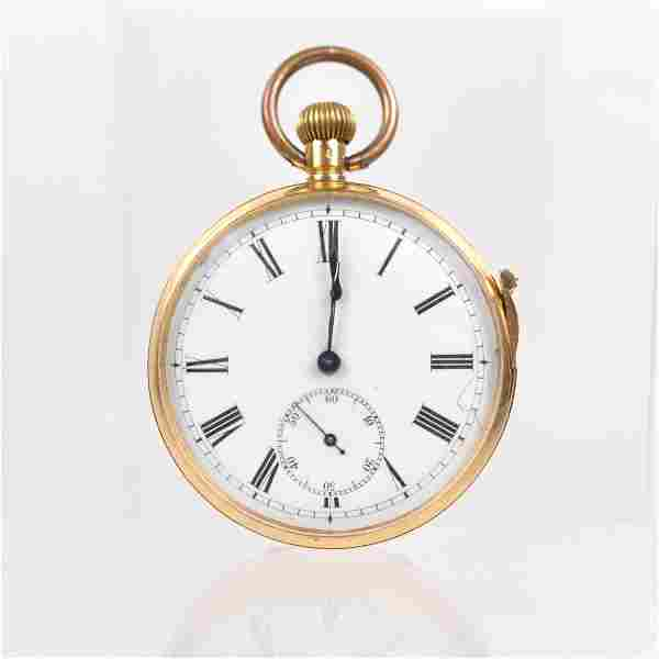 18 kt quarter minute repeater pocket watch
