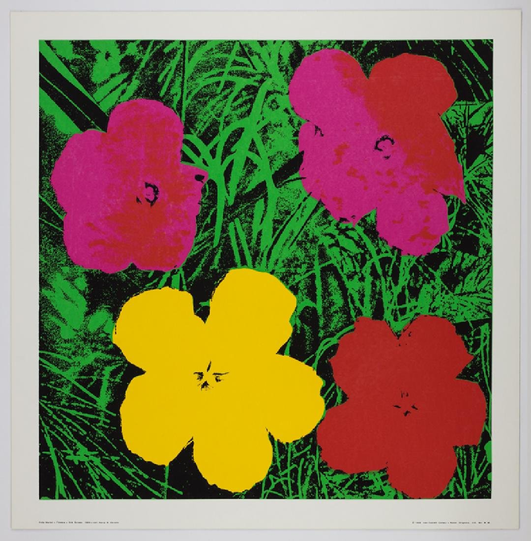 Andy Warhol    Flowers  (1964/1978)